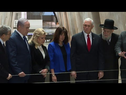 AFP news agency: US Vice President Mike Pence visits Jerusalem sites