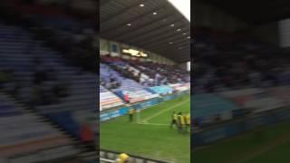 Villa vs wigan ( away day )