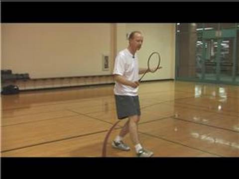 How to Play Badminton : How to Return a Serve in Badminton