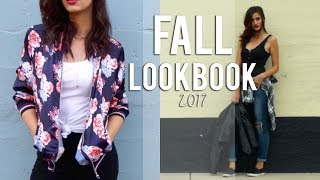Fall Lookbook 2017 - Outfit Ideas
