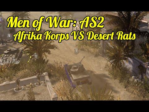 Men of War: Assault Squad 2 - Afrika Korps VS Desert Rats
