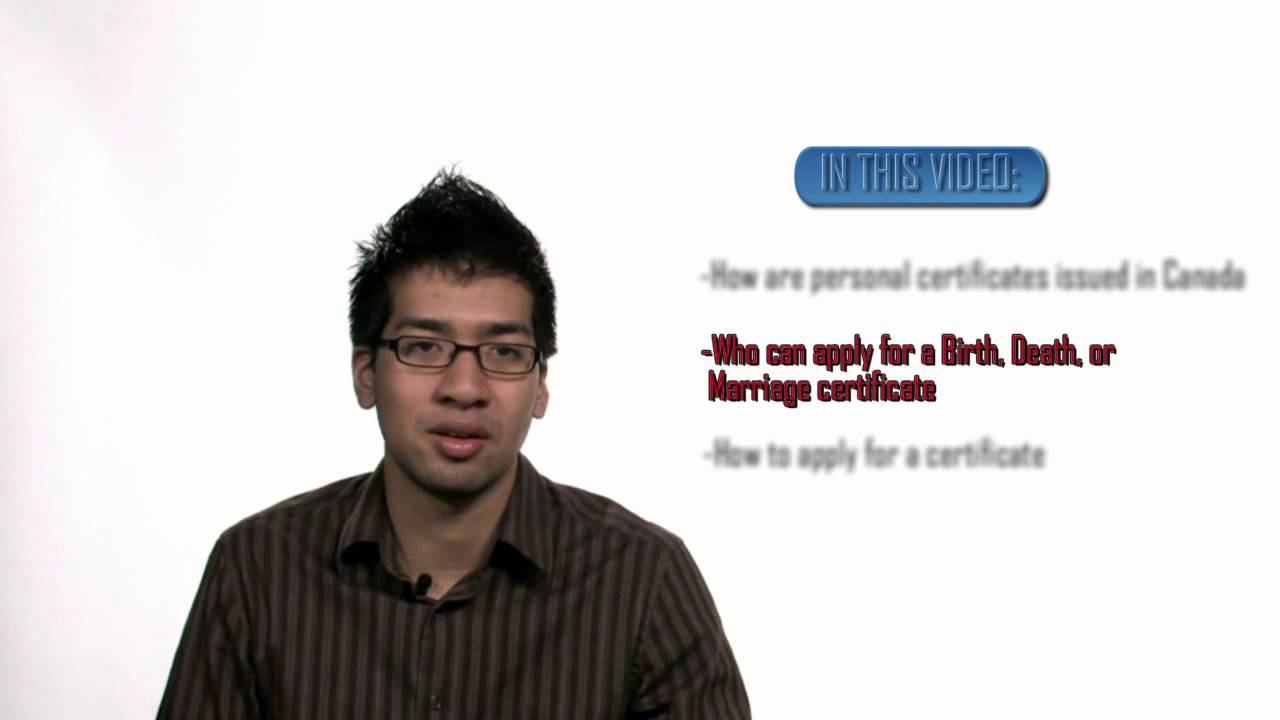 Apply for birth death marriage certificates youtube xflitez Choice Image