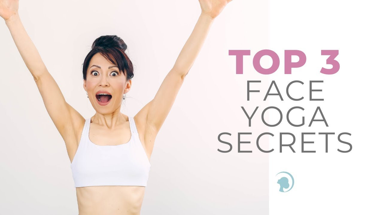 🤫Top 3 Face Yoga Secrets🤫