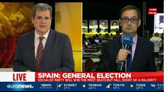 Elecciones generales en España 2019, el recuento de votos y los resultados   Programa especial (p.3)
