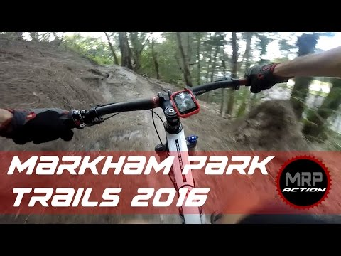 Markham Park Mountain Bike Trails-Highlights Jan 2016 MTB