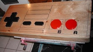 Giant Working Nintendo Nes Controller Coffe Table