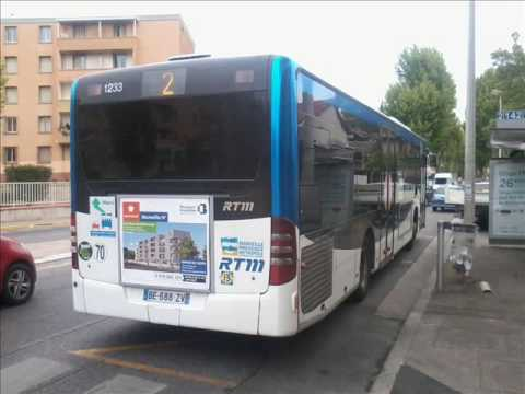 sound bus mercedes benz citaro facelift n 1233 de la rtm marseille sur la ligne 2 youtube. Black Bedroom Furniture Sets. Home Design Ideas