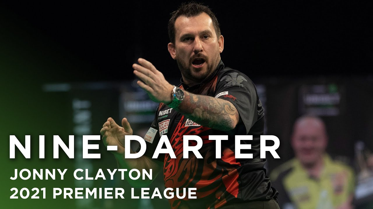 Download NINE DARTER! Jonny Clayton strikes perfection in the 2021 Premier League!