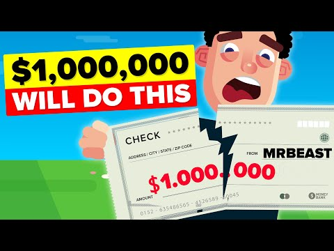 Winning $1,000,000 MrBeast Challenge Will Actually Have This Impact (Last To Take Hand Off)