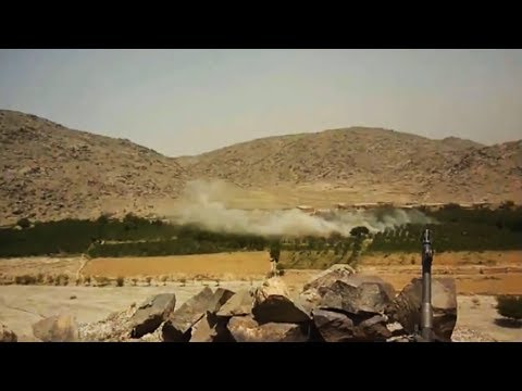 A-10 Warthog Gunrun With Apache and Kiowa Rocket Strike