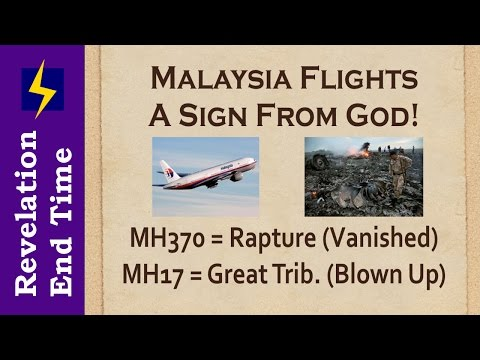 ✈️ Missing Plane Malaysia Flight MH370 sign from God - A picture of what's COMING!