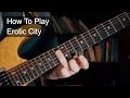 'Erotic City' Prince Guitar Lesson