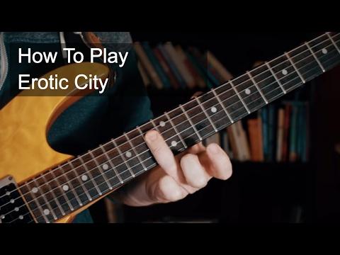 Erotic City Prince Guitar Lesson