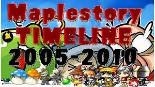Maplestory: 2005-2010 Timeline (WARNING: NOSTALGIA)