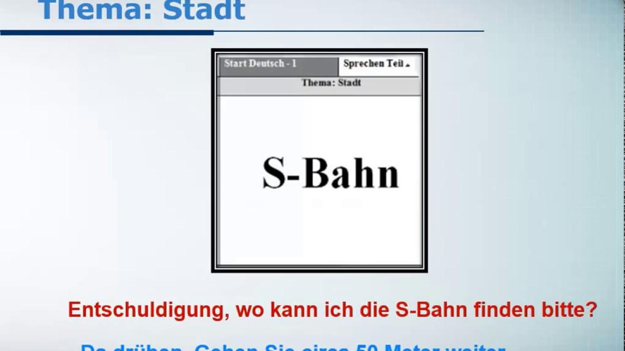 Startled Deutsch