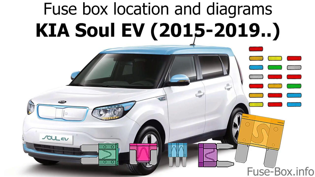 fuse box location and diagrams: kia soul ev (2015-2019  )