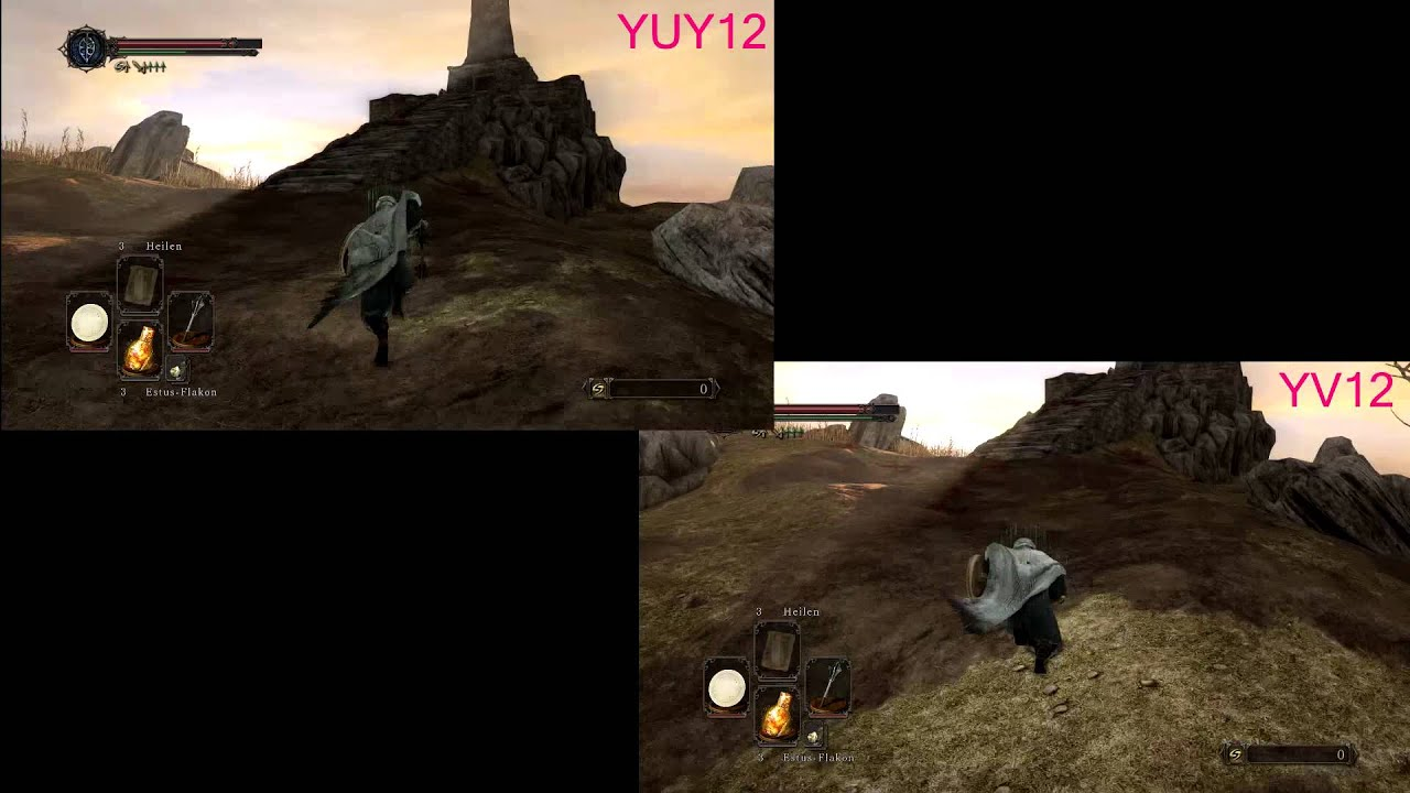 YUY2 vs YV12