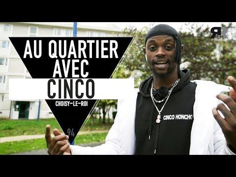 Youtube: CINCO – L'interview au quartier: sa cité, l'école, la Mafia K'1Fry, sa gestu, le mumble rap…