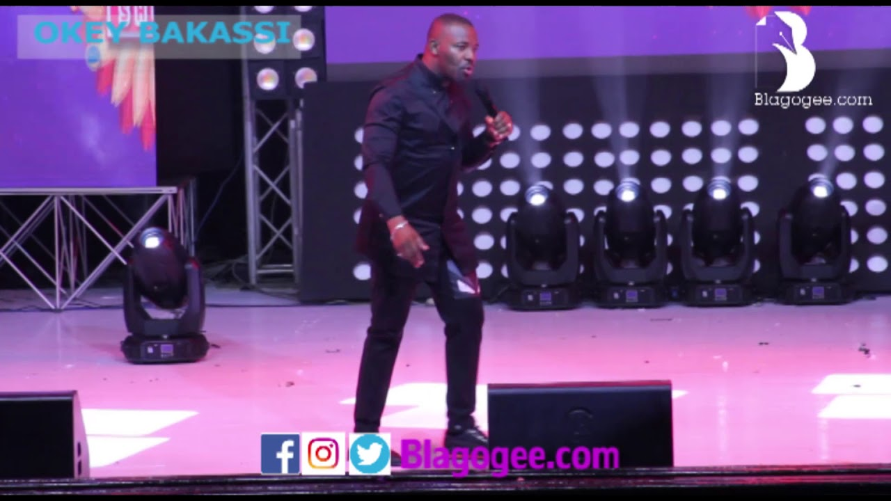 Okey Bakassi, Salvado Cracks Audience At 2018 Easter Comedy Show
