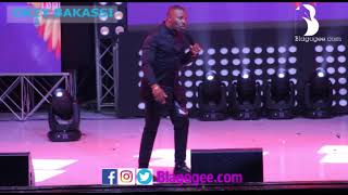 Okey Bakassi Salvado Cracks Audience At 2018 Easter Comedy Show