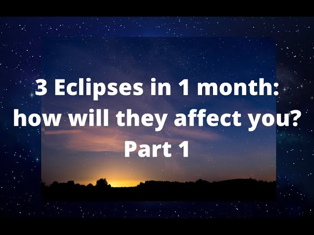 June 2020 Astrology and Eclipse Report - Part 1