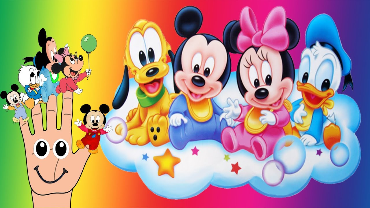 Baby Mickey Mouse Clubhouse Finger Family Nursery Rhymes