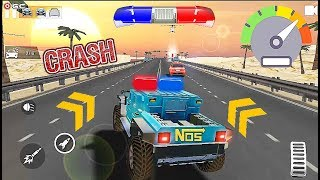 """Police Highway Chase in City """"Crime Racing Games"""" LV6 10 - Android Gameplay Video #2"""