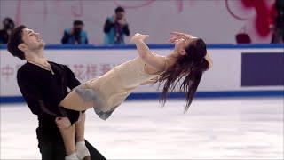 С. Евдокимова - Е. Базин. Произвольный танец. Shiseido Cup of China. Гран-при по фигурному катанию