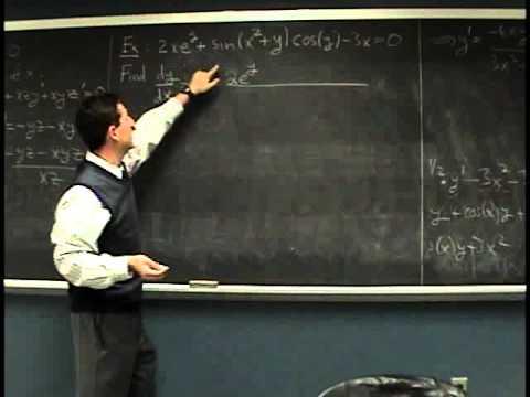 Suffolk Fall 08 Math 165 Lecture 18: Boring Pre-Midterm Q&A