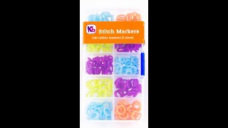 KB Loom Silicone Rubber Stitch Markers
