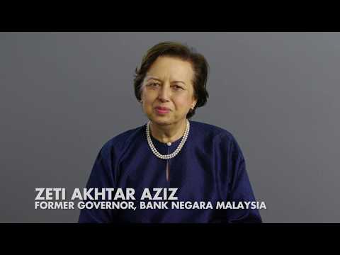 Ideas Made to Matter: Former Bank Negara Malaysia Governor Zeti Akhtar Aziz
