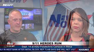 9/11 HEROES RUN: 7th year event moves to Mesa, honors first responders