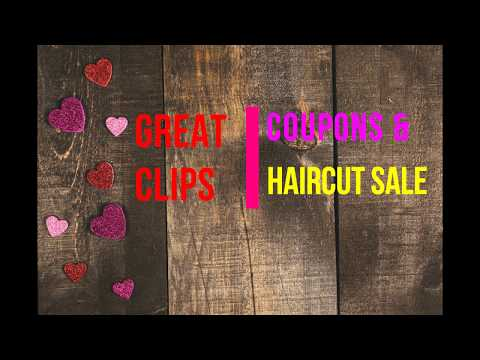 $5.99, $6.99 & $7.99 Great Clips Coupons & Haircut Sale Offers 2018