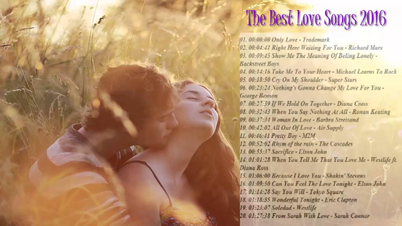 List of best love songs ever
