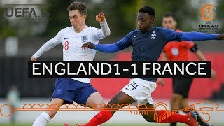 Group stage highlights: England 1 – 1 France