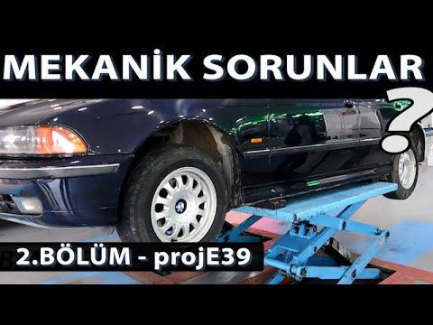 BMW E39 Kronik Ve Mekanik Problemler | 2 Bölüm - PROJE39