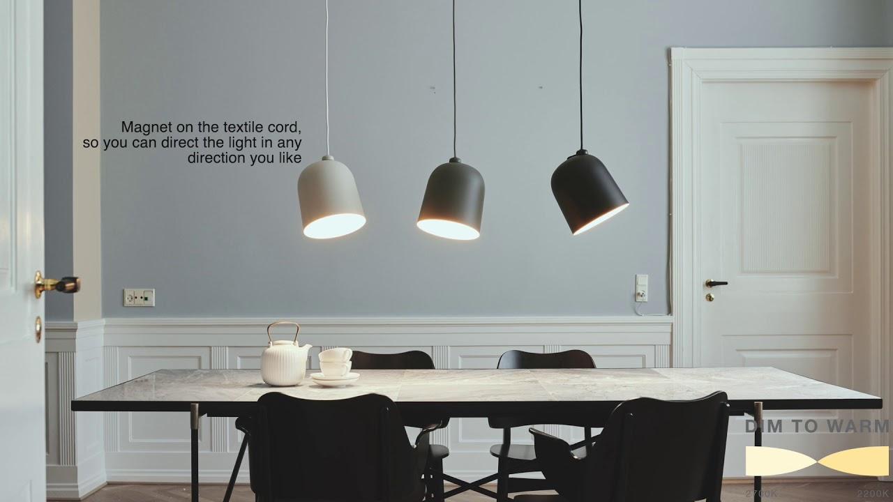 Køb Nordlux Angle Pendel i 3 farver | Dim To Varm funktion