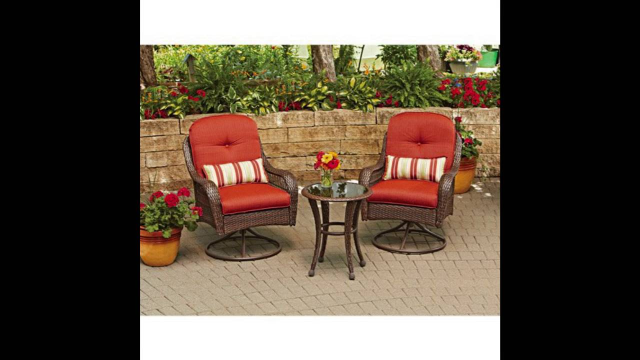 3 Piece Outdoor Furniture Set Better Homes And Gardens Azalea Ridge 3 Piece Outdoor Bistro Set
