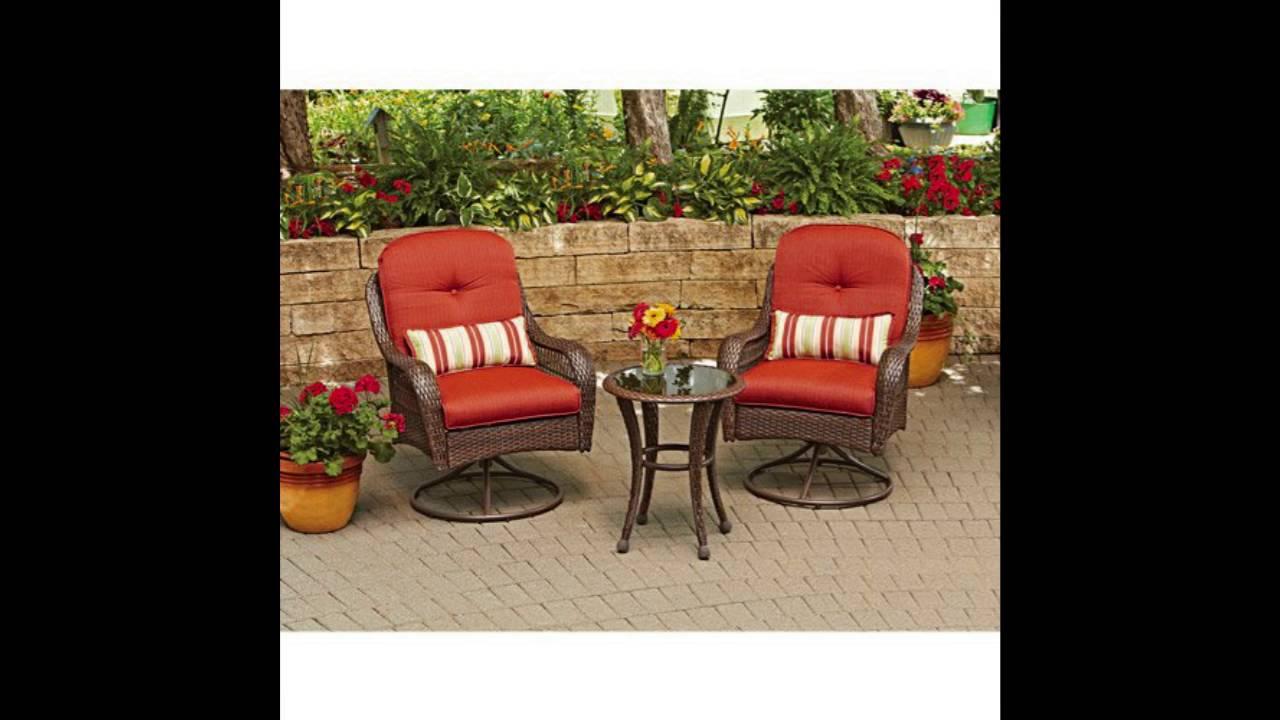 3 piece outdoor furniture set better homes and gardens azalea ridge 3 piece outdoor bistro set