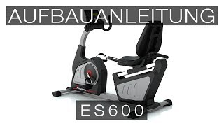 SPORTSTECH ES600 Ergometer - Aufbauanleitung/construction/structure/estructura/struttura