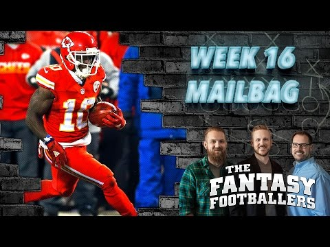 Fantasy Football 2016 - Pump the Brakes, Week 16 Playoff Questions, TNF Preview - Ep. #332