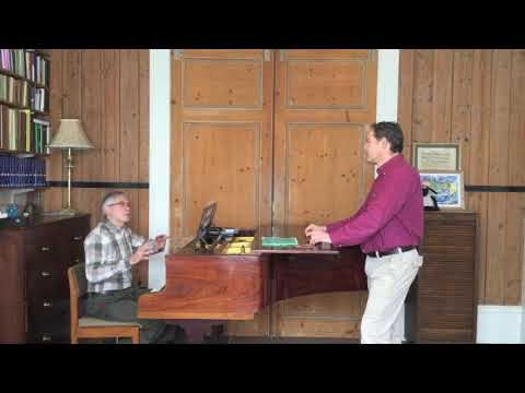 Singing Lesson with Gerald Finley: Part 2