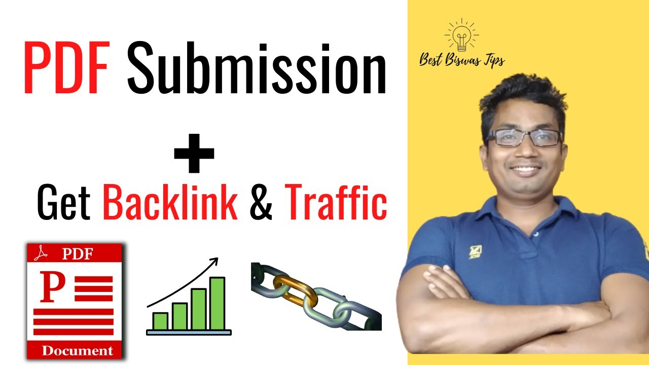Increase Backlinks And Traffic To Your New Website By Submitting Pdf Youtube