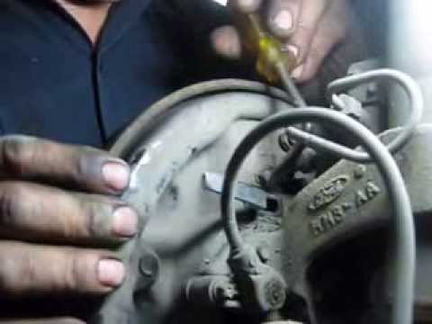 How To Remove A Ford Taurus Rear Brake Drum Youtube