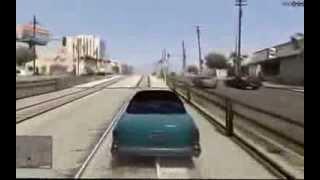 GTA V - Gameplay Filtrado de 15 MINUTOS! - 2013
