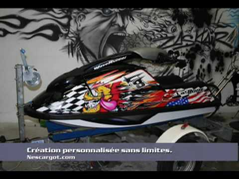 Custom Stickers Jet Ski