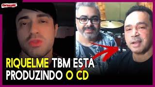Riquelme Batera está produzindo junto com Amedício Jr o CD DA NOVA BANDA de DIEGO REFAEL