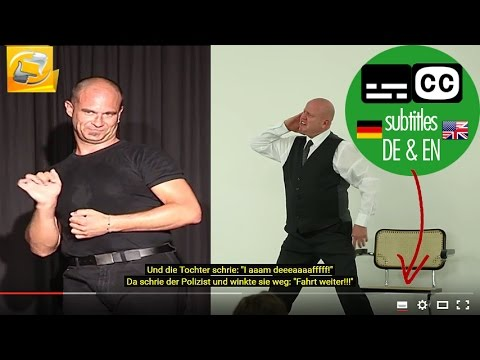 #12 Deaf Stand-up Comedy Gags mit John Smith (ENG) & Rob Roy (AUS) deafmedia.de untertitelt