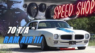 1970 Pontiac Trans Am Ram Air III Texas American Muscle Car with Samspace81