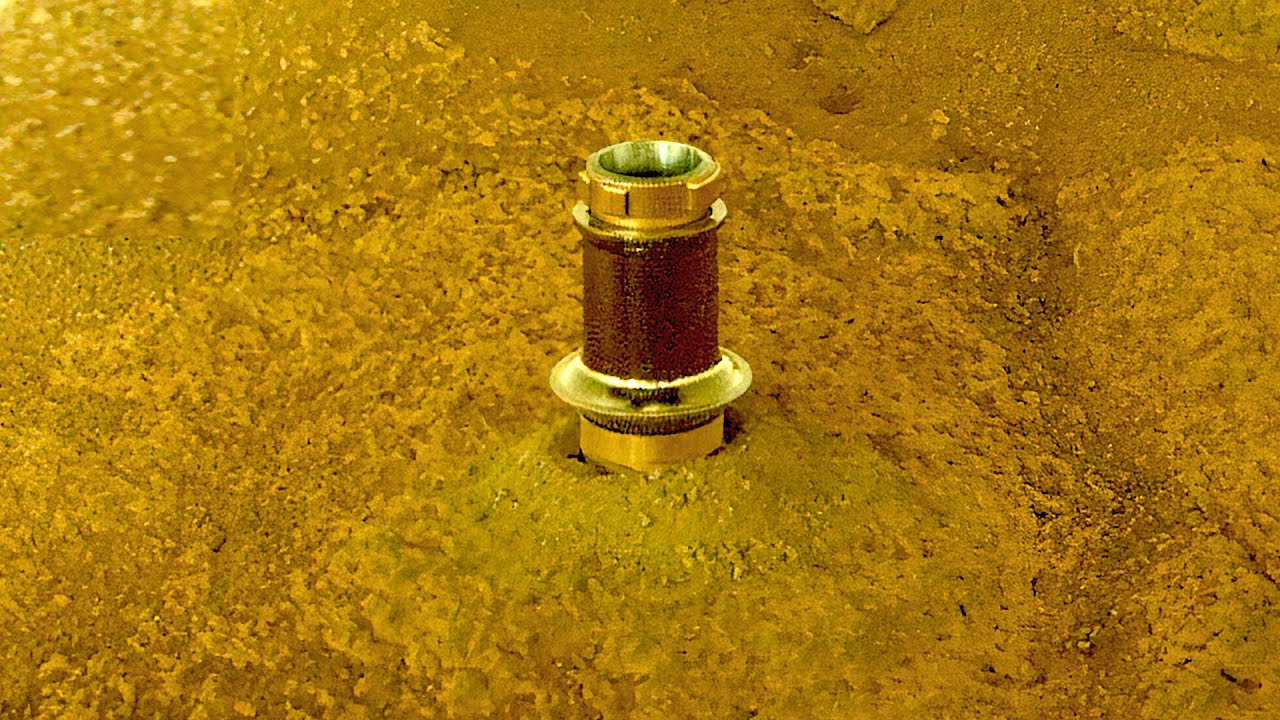 Perseverance Rover left this in Mars rock trying to get first sample on Red Planet